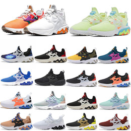 Women leather shoes usa online shopping - Presto React Witness Protection Element TPU Running Shoes Frame Design By You Panda USA Team Splice Women Men Sneakers Sports Size