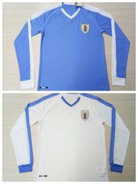 $enCountryForm.capitalKeyWord UK - 2019 2020 Uruguay Long sleeve Soccer Jerseys E.CAVANI L.SUAREZ D.GODIN home away 19 20 football full shirt S-2xl