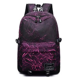 0c4ecb21a7 College Student Bag College Wind Computer Bag Schoolbag Casual Printed Backpack  Men Women Backpack MochilaFGNDFN