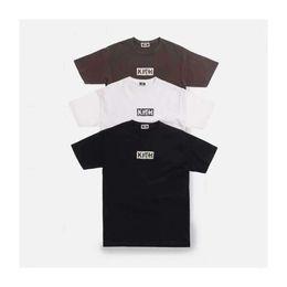 23e5b478 Kith Shirt Australia - KITH 19ss Splintered Logo Tee Broken box logo short  sleeve t-