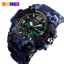 $enCountryForm.capitalKeyWord Australia - Luxury Fashion Top Brand Sports Watch Men's Military Digital Watch 5bar Waterproof Double Screen Watch Couple