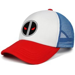 653a840f8 Deadpool logo Vector gray Marvel comics kids baseball caps One Size Teen baseball  cap Unisex red cap fitted hats hats