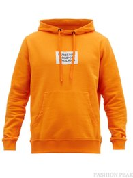 $enCountryForm.capitalKeyWord Australia - Women's hoodies men's hoodies cotton loose hooded sweater letters printed orange hooded sweater student jacket 2019 autumn and winter new