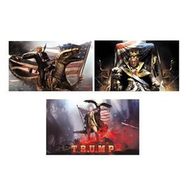 Vente en gros Drapeau Américain Motif Bannière Donald Trump Drapeaux 90X150CM Ad Polyester Plusieurs Styles Ultra Thin Light