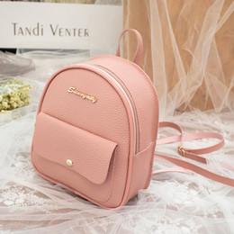 $enCountryForm.capitalKeyWord Australia - 2019 Korean Style Women Mini Backpack PU Leather Shoulder Bag For Teenage Girls Multi-Function Small Bagpack Female Phone Pouch