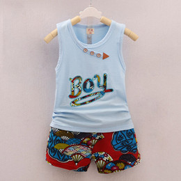 $enCountryForm.capitalKeyWord Australia - good quality summer boys clothing sets cartoon vest +shorts pants suits toddler boy casual sports outfits fashion tracksuits clothes