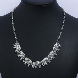 $enCountryForm.capitalKeyWord Australia - Personality new Korean version of the vintage engraving elephant diamond long necklace chain sweater chain