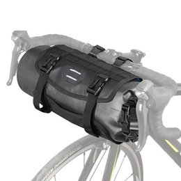 Bicycle Hold Australia - Bike Bicycle Handlebar Bag Pannier Frame Tube Cycling Pouch Basket 3-7 Large Capacity For Holding Casual Essentials