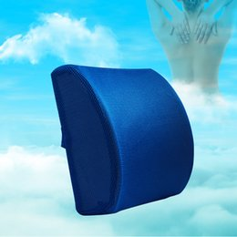 $enCountryForm.capitalKeyWord Australia - Car Soft Memory Foam Lumbar Support Back Massager Waist Cushion Pillow For Chairs in the Car Seat Pillows Office