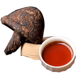 Wholesale Chinese Puer Tea g Ripe Puer Black Tea Mushroom Shape Tuo Cha Pu erh Old Trees Pu erh Health Care Pu er Cooked Puerh Red Tea Green Food
