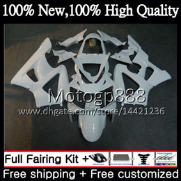 Honda Cbr929 Australia - Body For HONDA CBR900 RR CBR 929RR CBR 900RR CBR929RR 00 01 54PG11 CBR 929 RR CBR900RR CBR929 RR 2000 2001 Glossy white Fairing Bodywork