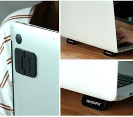 Foldable Desk Stand For Tablets Australia - 2019 Remax Notebook Cooling Bracket Laptop Stand Cooler Radiator Holder Foldable For ipad MacBook Air Mac Desk stands tablet Mount