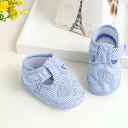 $enCountryForm.capitalKeyWord Canada - Baby Shoes Girl Boy Soft Sole Crib Toddler Shoes Kids Bowknot Cloth quality Walking Sneaker For Baby HOOLER