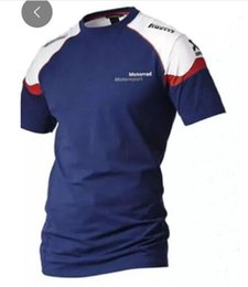 Quick Dry Shirts For Men Australia - Edision arrival! 2018 MOTOGP motorcycle round neck short-sleeved locomotive quick-drying T-shirt suitable for BMW casual top G