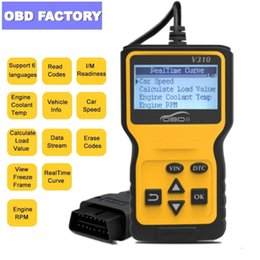 $enCountryForm.capitalKeyWord Australia - V310 Code Reader Scanner V1.1 Check Engine Fault V310 Car Speed Probe Diagnostic Tool Code Scanner OBD2