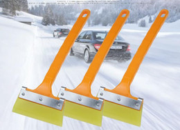 $enCountryForm.capitalKeyWord Australia - Long handle tendon wiper board film scraper wiper blade Snow shovel glass cleaning tool 33*11*5.5cm