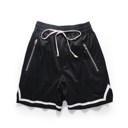 $enCountryForm.capitalKeyWord Australia - Basketball Short Pants Zipper Pocket Men Black Casual Streetwear Gym Workout Fitness Running Fashion Trendy Clothing Shorts