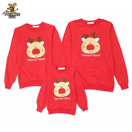 ff9fbade Family Christmas Shirts Australia - Matching Family Clothes 2019 Christmas  Deer Cotton Kid shirt Mother Daughter