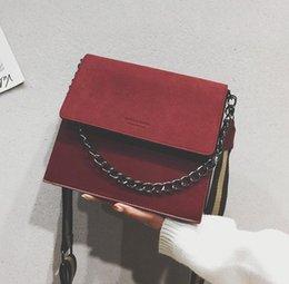 $enCountryForm.capitalKeyWord Australia - European Retro Fashion Ladies Square Bag 2018 New Quality Matte Pu Leather Women's Handbag Chain Tote Shoulder Messenger Bags Y19062003