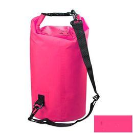 699c6ffd93 Waterproof Dry Bags 2 3 5 L Waterproof Beach Bag Drifting Folding Storage Bag  Bucket Outdoor Floating Swimming Boating Camping Travel Kit
