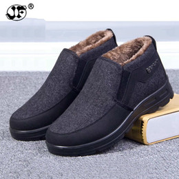 men rubber boots thigh high NZ - Brand Fashion Winter Style Soft Moccasins Men Flats Snow Boots Shoes Men Short Boots High Quality Ankle Boots fgb67