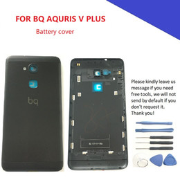 $enCountryForm.capitalKeyWord Australia - Battery cover Back Housing Case for BQ Aquaris V PLUS Back Frame Mobile Phone Repalcement arts
