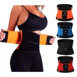 body weight suit Australia - Sweat Neoprene Weight Loss Body Shaper Waist Trainer Cincher Corsets Best Workout Sauna Suit Thermo Slimming Belt for WomenMX190930