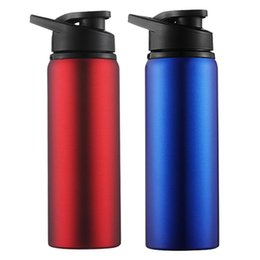 Wholesale Outdoor Sport Running Bicycle Kettle Drink Bottle Cycling Water Cups ML Large Capacity Stainless Steel Bike Water Bottle BH1108 TQQ