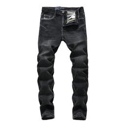China Fashion Vintage Men Jeans Stretch Classical Denim Pencil Pants hombre Large Size Black Skinny Jeans Men Streetwear Hip Hop supplier jeans large hip hop suppliers
