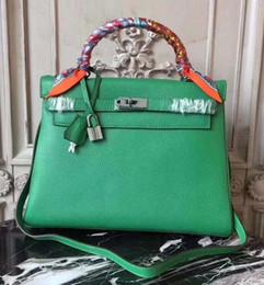 $enCountryForm.capitalKeyWord Australia - New Luxury Designer Leather Lock kelly Hand Bags Leather Women Handbags Ladies Shoulder Bags Original leather Classic Women Messenger zz11