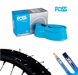 Road Bicycle Tires Australia - Foss Bicycle Inner Tube 16 18 20 24 26 27.5 700C 29 MTB Road Bike Tire Schrader Presta TPR Rubber Bicycle Tube Bike Parts Taiwan