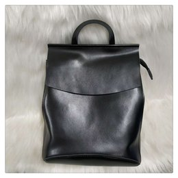 $enCountryForm.capitalKeyWord Australia - Sexy2019 Function More Both Shoulders Package Woman Genuine Single Shoulder Cowhide All-match Tide Concise Soft Leather Will Backpack