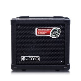 Bass guitar effects online shopping - 100 Original JOYO DC Acoustic Electric Bass Guitar Amplifier Multi Effects Stereo Speaker Digital Volume Control Amp