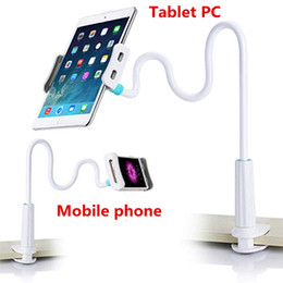 Wholesale Tablet PC and Cell Phone Holder Universal Flexible Long Arms Mobile Phone Holder Desktop Bed Lazy Bracket Mobile Stand Support All Mobiles