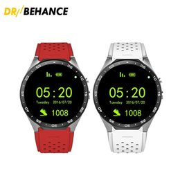 Smartwatch Gps Wifi Camera Australia - KW88 3G Smart watch Android 5.1 IOS watchs Quad Core support 2.0MP Camera Bluetooth smartwatch SIM Card WiFi GPS Heart Rate Monitor 10pcs