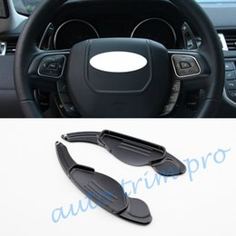 $enCountryForm.capitalKeyWord Australia - 2X Car Add-on Gear Steering Wheel Shift Paddle Shifter Lever Extension Cover Kit Fit For Jaguar XE XF XJ F-type F-Pace Accessories
