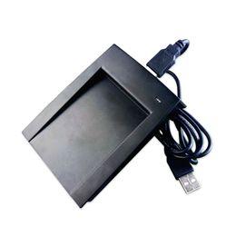 Portátil 13.56 Mhz Leitor De Cartão RFID Plug And Play Leitor RFID USB Útil Controle de Acesso Para Mi-fare M1 IC Leitor De Cartão venda por atacado