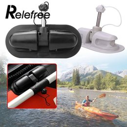 Wholesale 1pc Inflatable PVC Kayak Boat Paddle Lock Anchor Holder Tie off Patch Wheel Wheel Row Roller Rowing Boat Kayak Accessories