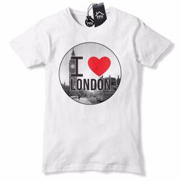 c64b436cde06 I Love LONDON LDN T Shirt Big Ben Love England Tshirt Top Mens Womens 613  2018 Hot Summer Adult T-Shirt Cotton Tees Men Hot Cheap