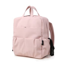 backpack for mother baby Australia - Large Capacity Diaper Backpack for Newborn Baby Waterproof Pink Cute Diaper Bag for Mother Maternity Bag for Travel Baby Care