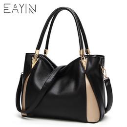 $enCountryForm.capitalKeyWord NZ - Genuine Leather Handbag Women's Shoulder Bag Large Capacity Bags For Girls Messenger Bag Women's Big Bolsos Mujer 2018 Y19061903