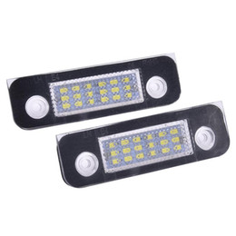 $enCountryForm.capitalKeyWord UK - 2 PCS DC12V White 18-LED License Plate Light Lamps Perfect Fit For Ford Fusion Fiesta Mondeo Car Accessories