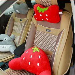 $enCountryForm.capitalKeyWord Australia - Car Neck Pillow Cartoon Cute Animal Neck Support Headrest Interior Accessories Car Seat Cushion Cover Travel Pillow