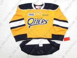 $enCountryForm.capitalKeyWord NZ - Cheap custom ERIE OTTERS THIRD ALTERNATE YELLOW OHL CCM HOCKEY JERSEY stitch add any number any name Mens Hockey Jersey XS-5XL
