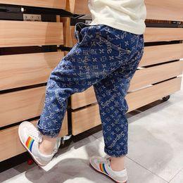 $enCountryForm.capitalKeyWord NZ - 2019 Autumn Boys girls Pants Kids Jeans Elastic Denim Clothes Children Trousers For Boy Pencil Leggings
