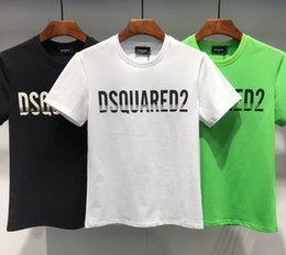 2019 Luxurys Brands D2 Canada Designers Uomo Felpe con cappuccio DSQ03 T-Shirt Italia Moda casual Autunno inverno Manica lunga Hip-Hop Felpa DS2 tees in Offerta