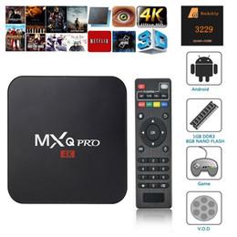$enCountryForm.capitalKeyWord Australia - MXQ PRO TV Box Android 7.1 Tv Box 4K Quad Core 1GB 8GB Rockchip RK3229 Streaming Media Player Smart Iptv Set Box