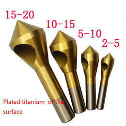 $enCountryForm.capitalKeyWord Australia - utter electronics 4pcs Set Titanium Countersink Deburring Drill Taper Hole Cutter Steel Aluminum Countersunk Head Chamfering Tools 2-5-10...