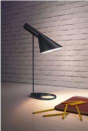 Painted Bedside Tables NZ - New Desk Lamp Modern Table Lamp Lighting Black White For Living room Study Bedroom Bedside Lamp B017
