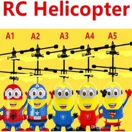 Helicopter instructions online shopping - RC Helicopter Flying Induction LED Noctilucent Ball Quadcopter Drone Sensor Up grade infrared Induction flying Children Toys